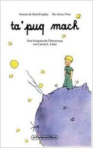 Cover von Der Kleine Prinz auf Klingonisch