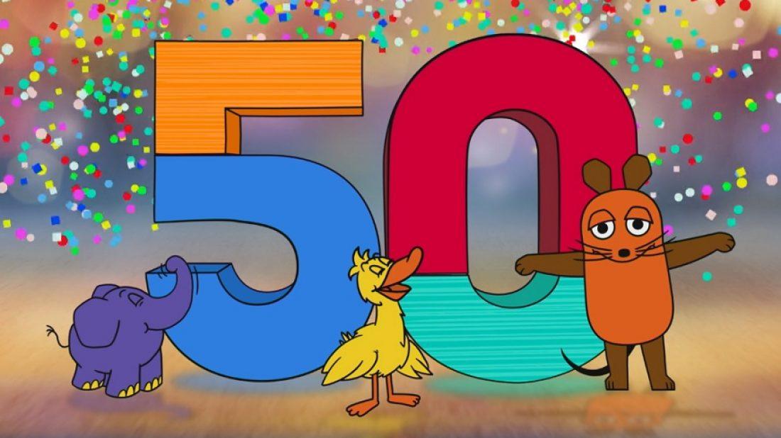 Die Sendung mit der Maus wird 50