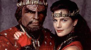 Hochzeitsfoto Worf und Jadzia